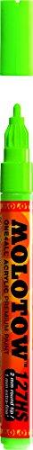 Molotow 127-HS Marker ONE4ALL, 2mm Spitze, 5,0ml, neongrün fluoreszierend