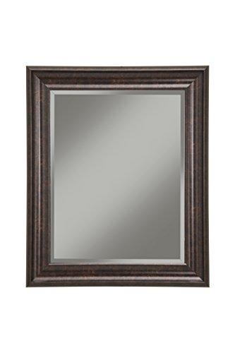 "Sandberg Furniture 14217 Wall Mirror, 36"" x 30"" Wall Mirror, Oil Rubbed Bronze"