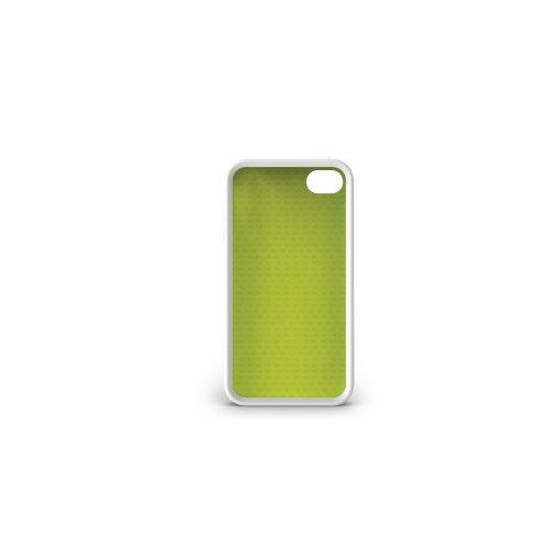 iLuv Aurora Glow-In-The-Dark Case for iPhone 4 - White/Green