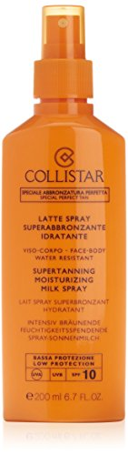 Collistar Latte Spray Superabbronzante Idratante (SPF 10) - 200 ml.