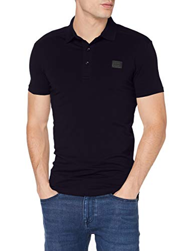 Antony Morato Herren Polo Sport Slim Con Placchetta Poloshirt, Blau (BLU Notte 7066), X-Large