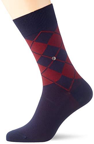 Burlington Herren Socken Bolton, Baumwolle, 1 Paar, Blau (Marine 6120), 40-46 (UK 6.5-11 Ι US...