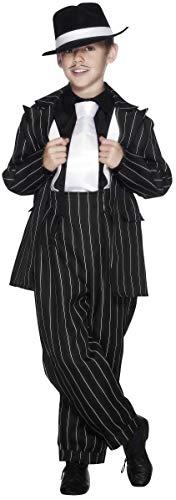 Smiffys Kinder Zoot Anzug Kostüm, Jackett, Hose und Hosenträger, Größe: L, 25600