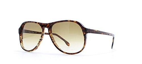 Christian Oliver 2441198marrón cuadrado Certificado Vintage Gafas de sol Para Hombre Y Mujer