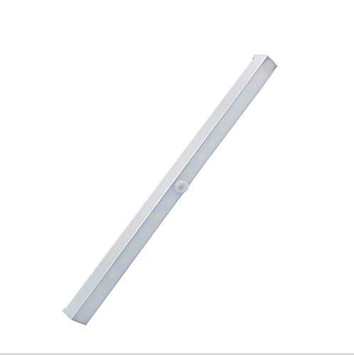 QGWZ Smart Home Led Menschlicher Körper Induktion Licht, Schrank, Schublade, WC, lichtgesteuerte USB-Ladenachtlicht, justierbar, Produkt Volumen 34,0 cm * 2,0 cm