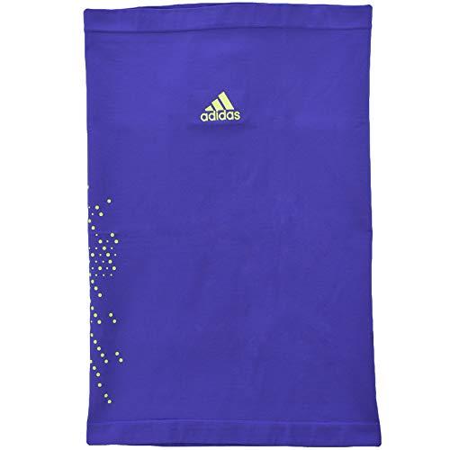 Adidas Performance Unisex Multi Neck Climalite Bandana - OSFM Purple/Yellow Taglia unica