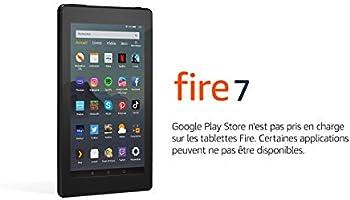 """Tablette Fire 7, écran 7"""", 16 Go (Noir) - avec offres spéciales"""