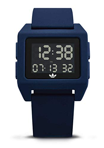 adidas Originals Watches Archive_SP1. Digital Watch with 20mm Silicone Strap (36mm) -Collegiate Navy