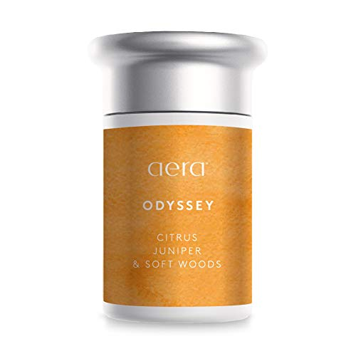 AERA Odyssey Scented Home Fragrance, Hypoallergenic Formula with Notes of Citrus, Juniper, Soft Woods - Schedule Using App Smart 2.0 Diffusers - State of The Art Air Freshener Technology