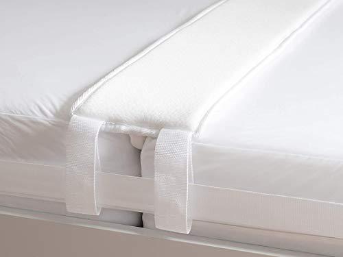 UMBRANDED Liebesbrücke für Matratzen als Matratzenverbinder - der Ritzenfüller für Matratzen Wird als Matratzenkeil in die Lücke gelegt, 200 cm x 20 mit Spanngurt für festen Halt