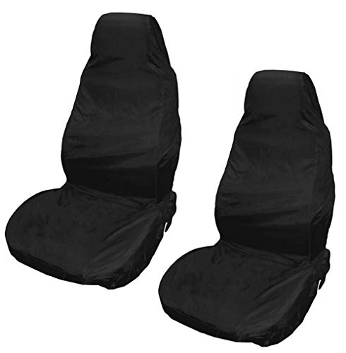 XtremeAuto® Waterproof Car Front/Rear Seat Covers Tear Resistant Fabric in...
