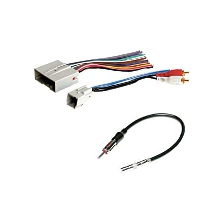 Amazon.com: ASC Audio Car Stereo Wire Harness and Antenna Adapter to Install  an Aftermarket Radio for Some Ford Lincoln Mazda Mercury Vehicles-  Important-- Compatible Vehicles Listed Below: Car ElectronicsAmazon.com