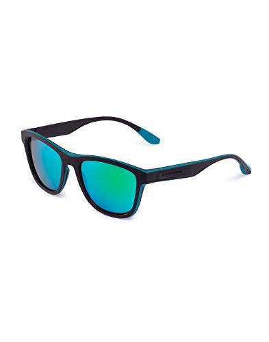HAWKERS · ONE SPORT · Black · Green Rubber Emerald · Gafas de sol para hombre y mujer