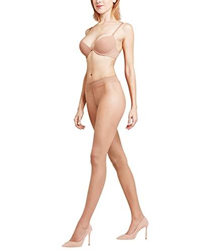 FALKE Damen Shelina 12 Den W Ti Feinstrumpfhose Ultratransparente Strumpfhose 1er Pack, Gelb (Sun 4299), 42-44 EU