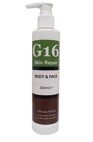G16 Skin Repair Lotion, Excellent Keratosis Pilaris Treatment and Hyperkeratosis Skin Repair Cream, Outstanding Results in 2 Weeks by G16