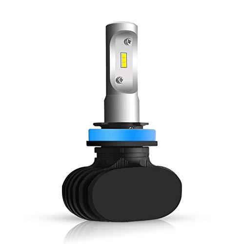 Kit de phares à LED S1 9008, éclairage pour projecteur éloigné et à proximité en aluminium de remplacement en aluminium 12 24V 5800ML, lumière blanche