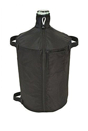 The All-in-One Carboy Cover (6 Gallon Textured Glass)