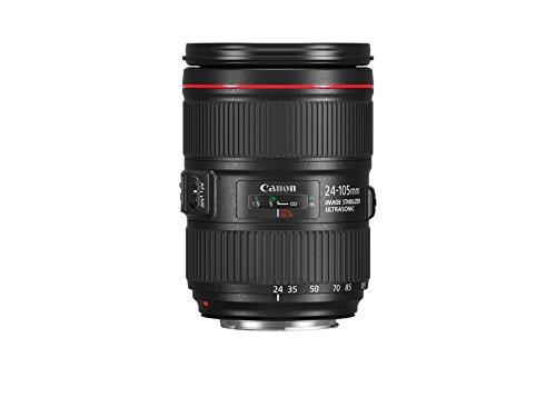 Canon EF 24-105mm f/4L IS II USM - Objetivo Canon EF 24-105mm f/4L IS II USM, Negro