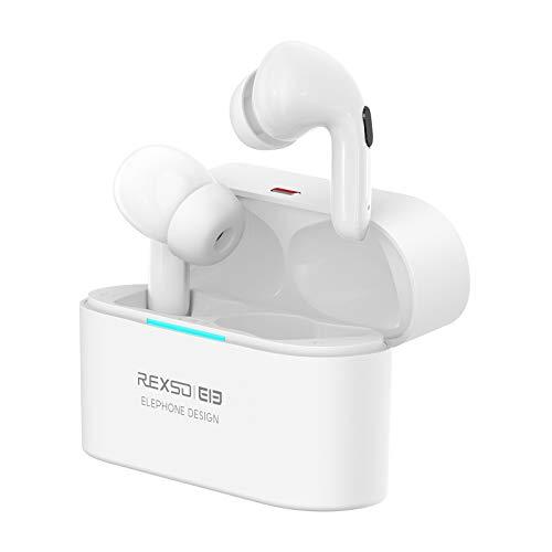 Elephone Auriculares Bluetooth Inalámbricos con Cancelación Activa de Ruido, ANC Auriculares Cancelacion de Ruido, 6.5-7 Horas de Reproducción Permanente, 4 Micrófonos Incorporados