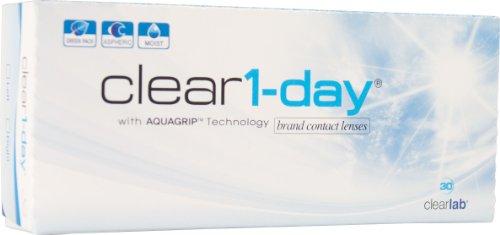 Clear 1-Day Tageslinsen weich, 30 Stück / BC 8.70 mm / DIA 14.20 mm / -5.25 Dioptrien
