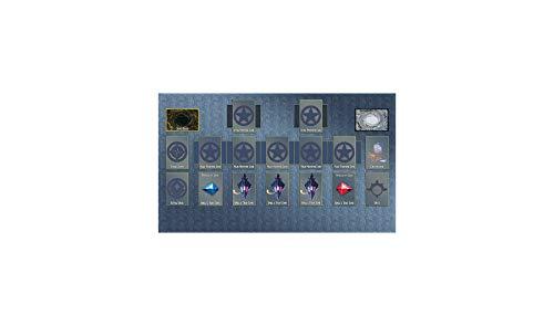 AArt TM Yugioh Custom Template 2017 Master Rule 4 Link Zone Playmat Play mat - TCG Playmat - MTG Playmat - Gaming Playmat - Gaming Card Playmat - Yugioh Tournament Playmat