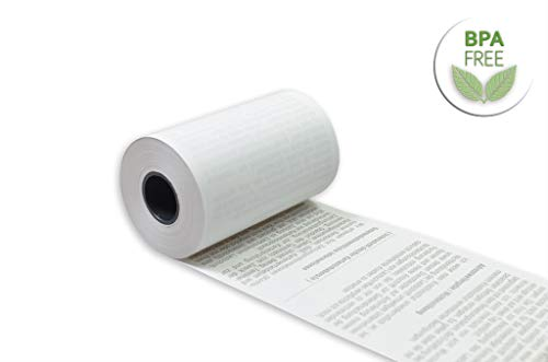 EC Thermorollen mit SEPA-Lastschrifttext 57mm x 14m x 12mm [ØRolle 35mm] Drucker schonend 55g/m²x20