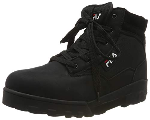 Fila Grunge mid, Herren  Hohe Sneaker, Schwarz (Black 25Y), 42 EU (8 UK)