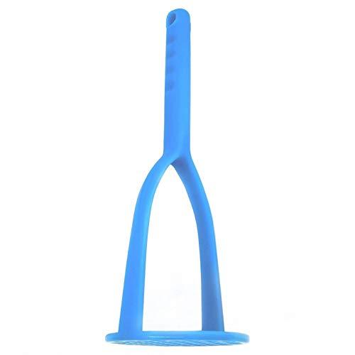 FLYINGSEA Potato Masher,Nylon Potato Masher,Safe for Non-Stick Cookware. Cooking and Kitchen Gadget. (Blue)