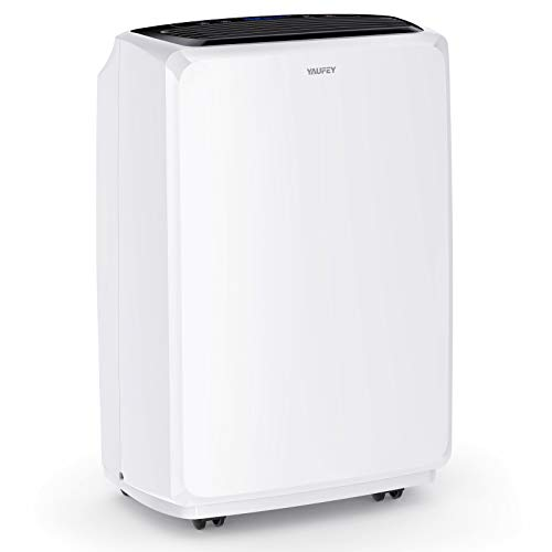 yaufey 1750 Sq. Ft Dehumidifiers for Home and Basements, with Continuous or Manual Drainage,Intelligent Control