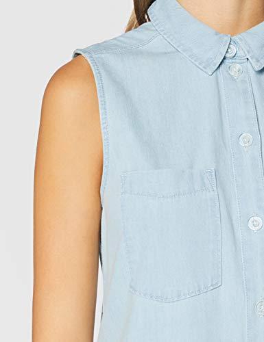 edc by Esprit Esprit Vestido, 904/BLUE Bleached, L para Mujer