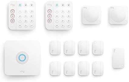 Ring Alarm 14 piece kit 2nd Gen home security system with optional 24 7 professional monitoring product image