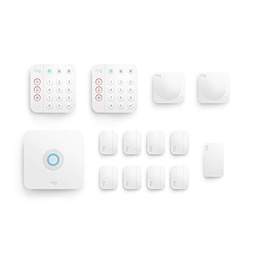 Ring Alarm 14-piece kit (2nd Gen) – home security system with optional 24/7 professional...