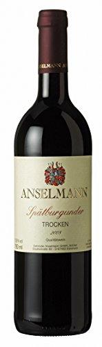 6 x Spätburgunder tr. 2018 Weingut Anselmann, trockner Rotwein aus der Pfalz