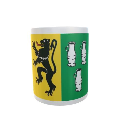 U24 Tasse Kaffeebecher Mug Cup Flagge Langerwehe