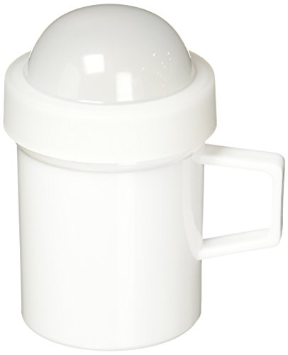 Norpro Zucker/Mehl Shaker Kunststoff, weiß
