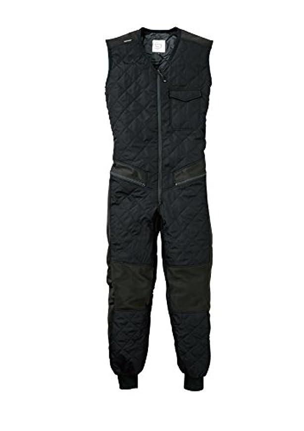 GRACE ENGINEERS グレースエンジニアーズ GE-2042 (秋冬用)インナーつなぎ袖なし 5 ブラック 3L