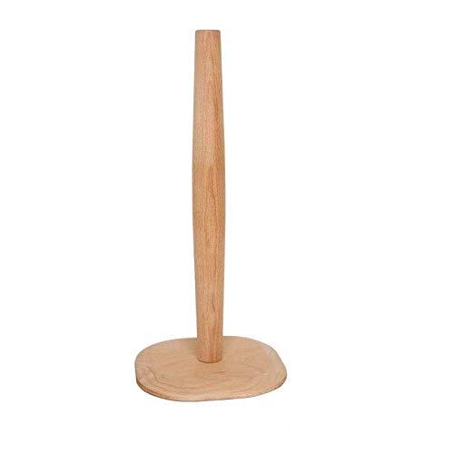 Portarrollos de papel higiénico, soporte vertical de papel higiénico, soporte para rollo de cocina, dispensador de rollos de cocina, soporte para decoración del hogar, A, B (color: B)