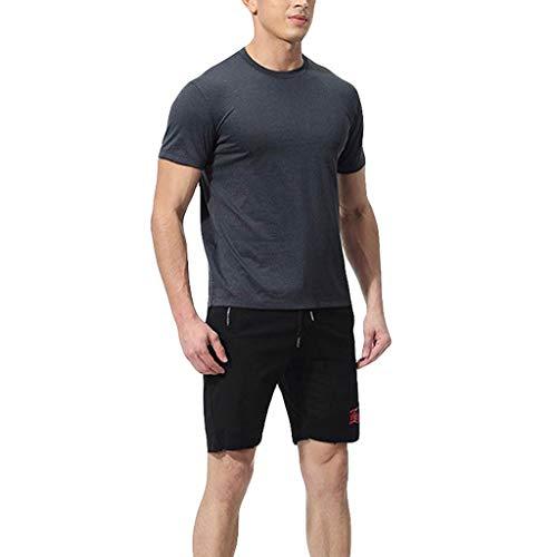 Berimaterry Camiseta Térmica Compresión para Hombres Pantalones Largos Ropa Interior Termal Traje...