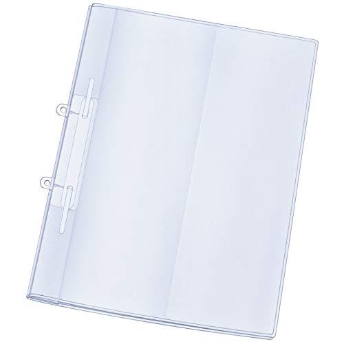 25x Prospektmappe & Klarsichtmappe mit Einschub-Taschen und Abheft-Lasche