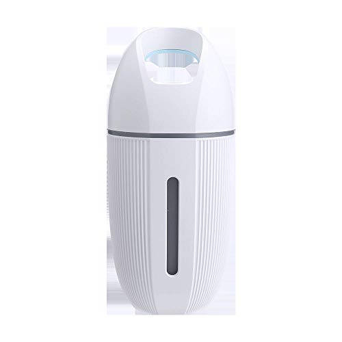 Eastbride Ultraschall Luftbefeuchter Diffusor für Raum,Tragbarer USB Mini Luftbefeuchter, stumm schalten kein Wasser automatisch Luftreiniger-blau trennen,Luftbefeuchter Ultraschall Vernebler