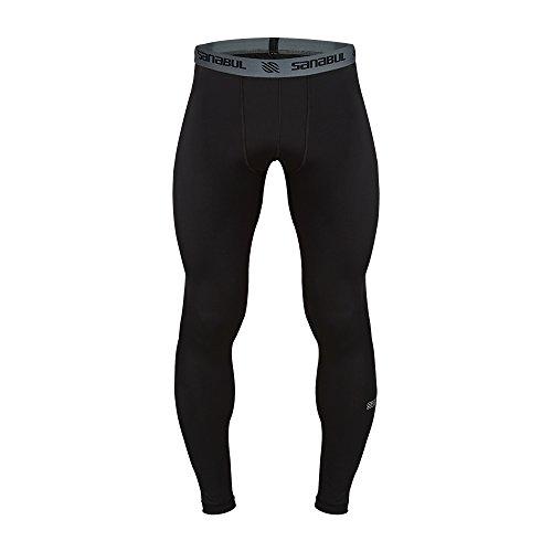 Sanabul Essential Mens Tights (X-Large, Black)