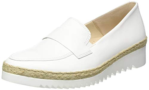 Gabor Shoes Damen Comfort Sport Slipper, Weiß (Weiss (Jute) 50), 39 EU