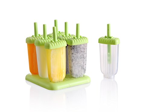 Ice Pop Maker Popsicle Tray Mold set - (6 pack set)