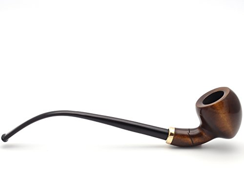 Mr. Brog Tobacco Pipe - Model No: 309 Amphora - Walnut - Hand Made from Top Quality Woodblock