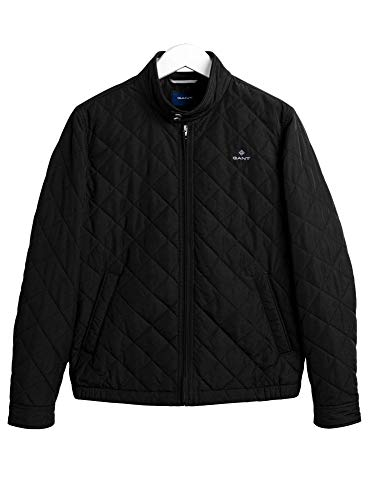 GANT THE QUILTED WINDCHEATER Jacks/Blazers heren Zwart - L - Wind jackets
