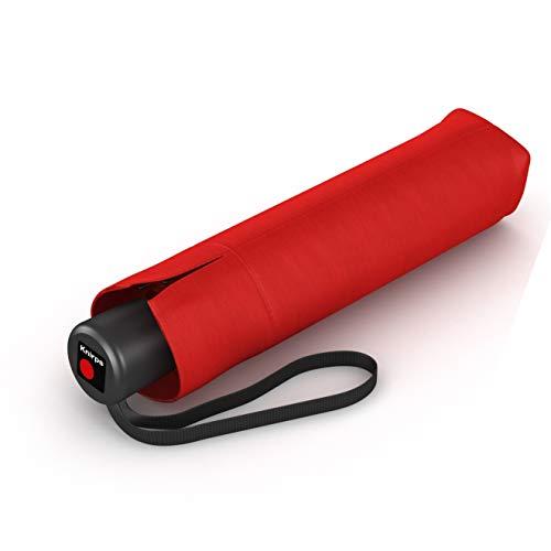 Knirps Taschenschirm A.050 Medium Manual – Kompakt und sturmfest – Stabil – Windproof – Red