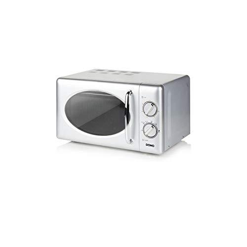 DO3020   Domo DO3020 - Microondas solamente, 20 L, 700 W, Giratorio, Gris
