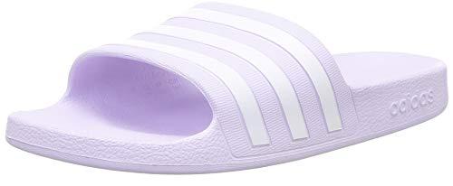 adidas Adilette Aqua, Ciabatte Donna, Porpora (Purple Tint/Ftwr White/Purple Tint), 38 EU