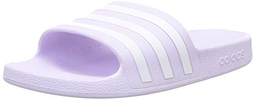 adidas Damen Adilette Aqua Slide, Violett (Purple Tint/Footwear White/Purple Tint), 39 EU