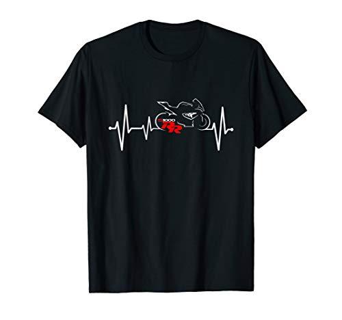 S1000RR Herzschlag Motorrad Tshirt